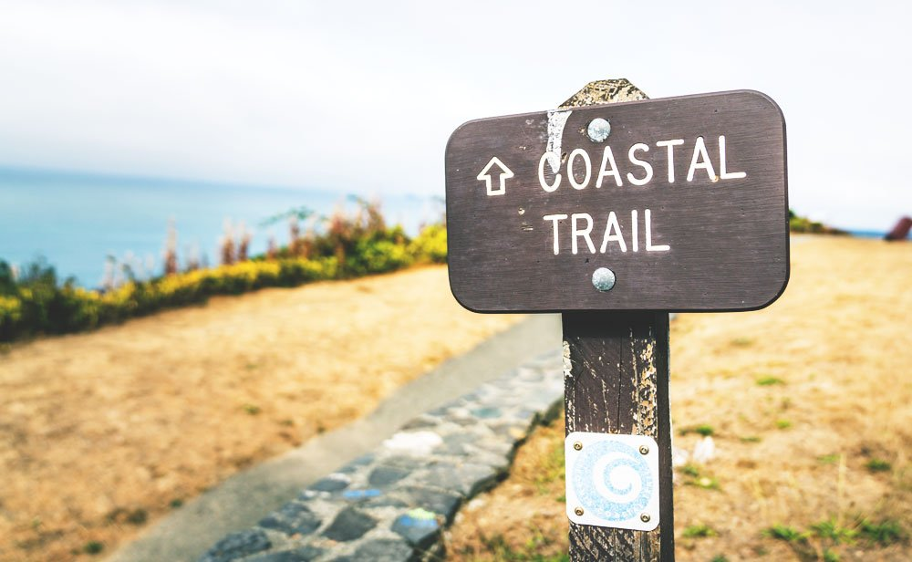 California Coastal Trail in Crescent City, CA