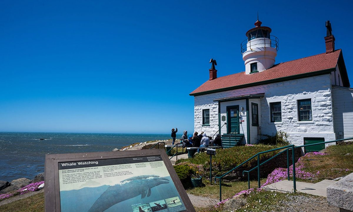 Battery Pt. Lighthouse in Crescent City, CA - Del Norte County