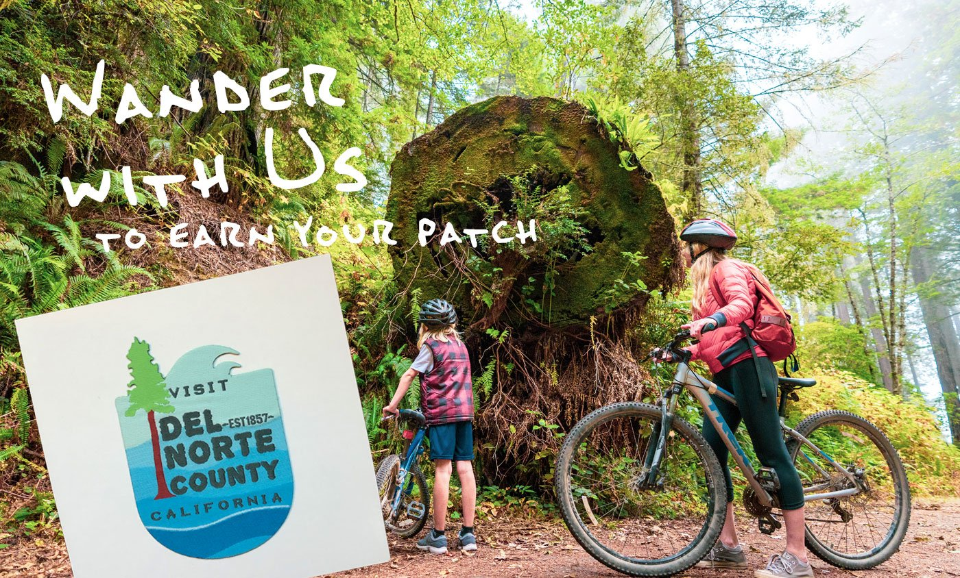 Wander with Us Through Del Norte County California to Earn a Free Patch #VisitDelNorte