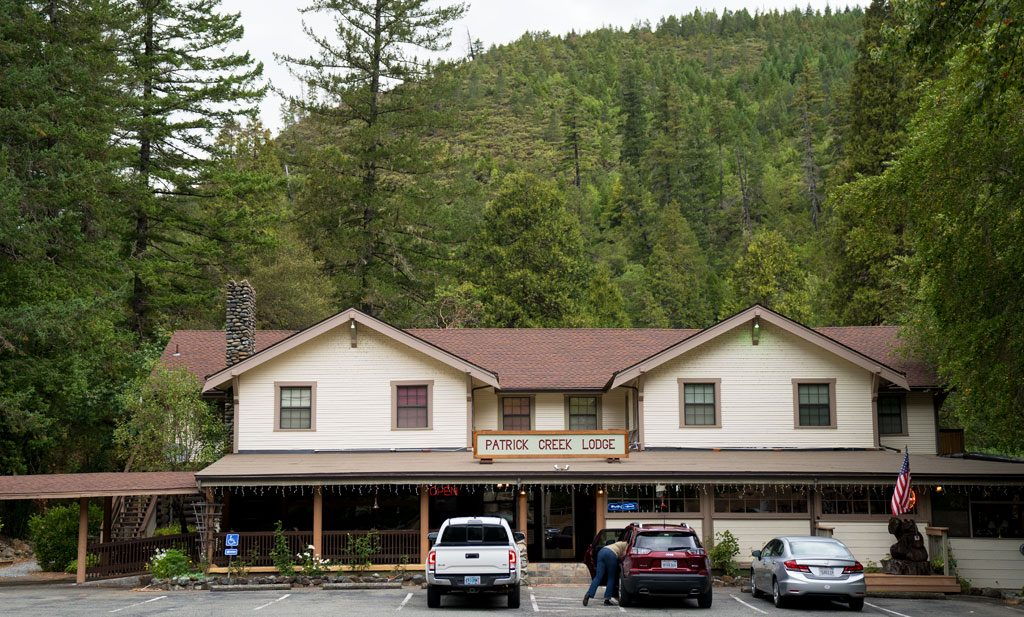 Haunted Historic Inn - Patrick Creek Lodge Near Crescent City. CA
