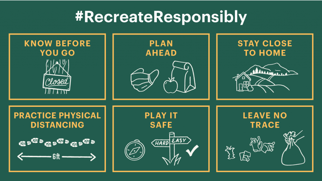 #RecreateResponsibly