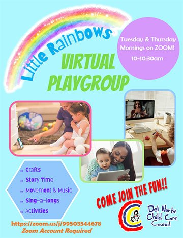 Little Rainbows Virtual Playgroup
